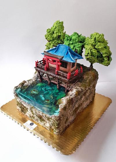 Forgotten shrine jelly cake - Cake by Paladarte El Salvador