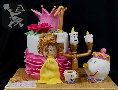Cake Beauty and the Beast - Cake by Sunny Dream