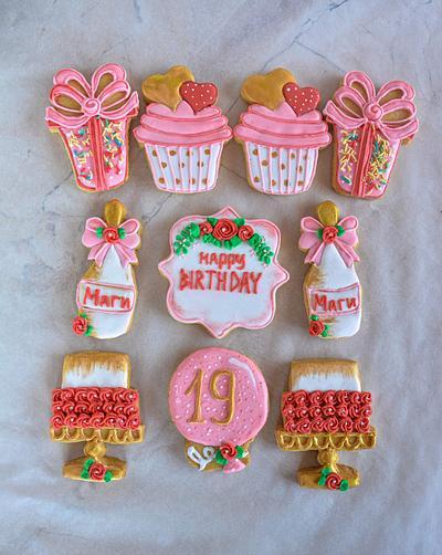 Birthday cookies - Cake by TortIva