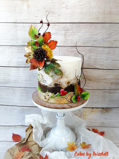 Autumn cake  - Cake by Mischell