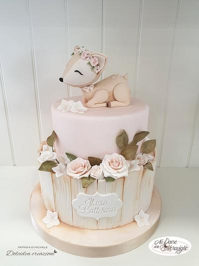 A tender fawn - Cake by Dolcidea creazioni