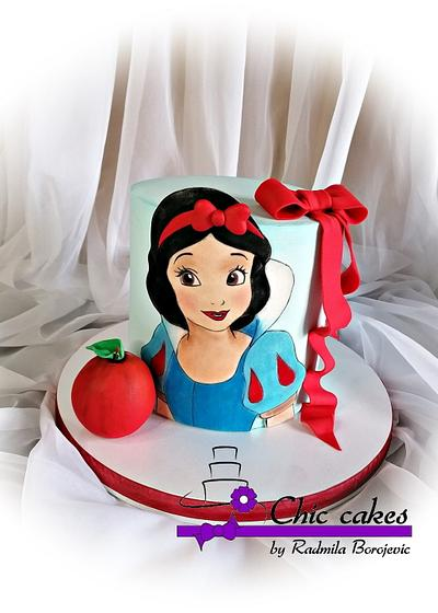 Snowwhite cake  - Cake by Radmila