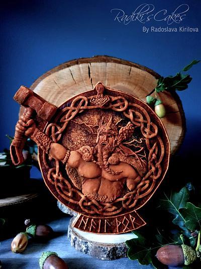 Thor - God of Thunder  - Cake by Radoslava Kirilova (Radiki's Cakes)