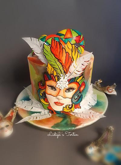 Venice hand painted cake  - Cake by Lidiya Petrova