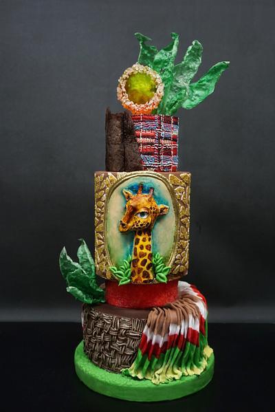 Wilma Tier Cake - Cake by Duygu Tugcu