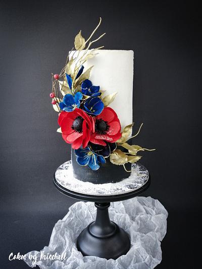 Flower cake  - Cake by Mischell