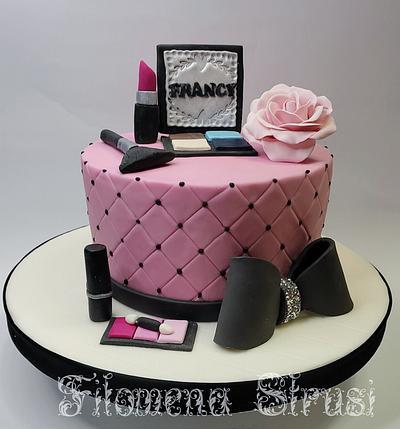 Makeup cake  - Cake by Filomena
