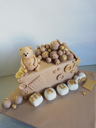 Cute bear - Cake by Marini's cakery