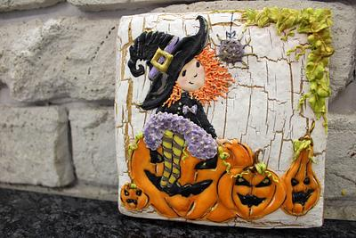 Halloween girl - Cake by Planet Cakes Patisserie
