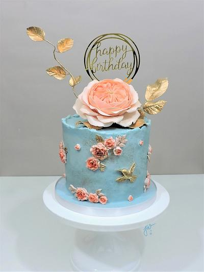 Gran's 97th Birthday Cake - Cake by Jeanne Winslow