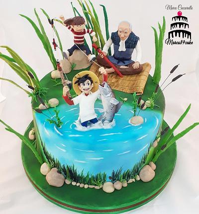 Sampei for sugar artist league  - Cake by Marco89cake