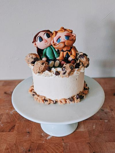 Animal Crossing Birthday Cake - Cake by Sydney Megan Connor