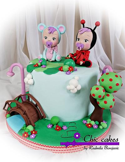 Cry babies doll cake  - Cake by Radmila