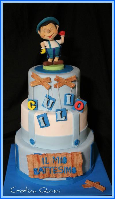 Pinocchio Cake - Cake by Cristina Quinci