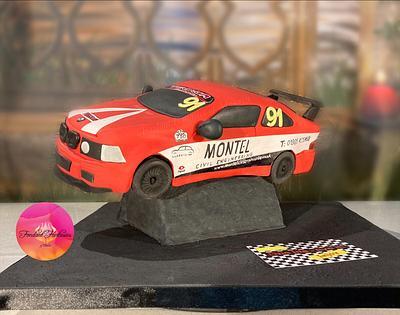 Racing BMW - Cake by Fondant Fantasies of Malvern