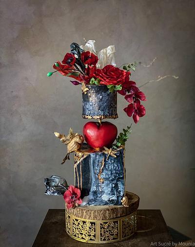 Valentine's day/ Fairytale cake - Cake by Art Sucré by Mounia