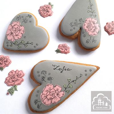 Rose - Cake by PUDING FARM