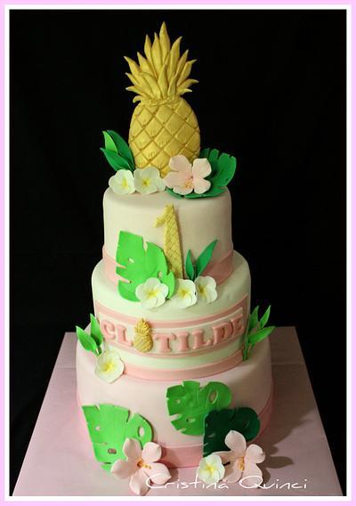 Pineapple cake - Cake by Cristina Quinci