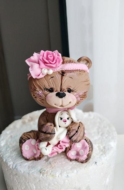 Cute bear - Cake by Tanya Shengarova