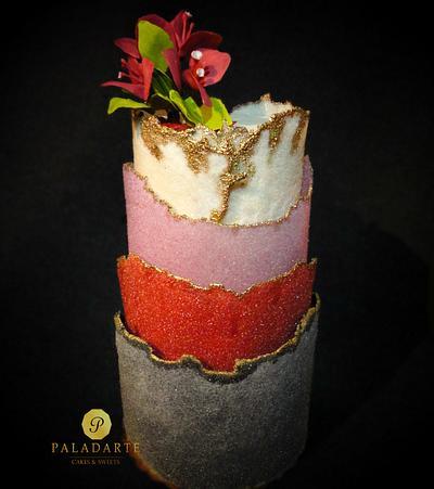 Layered cake - Cake by Paladarte El Salvador