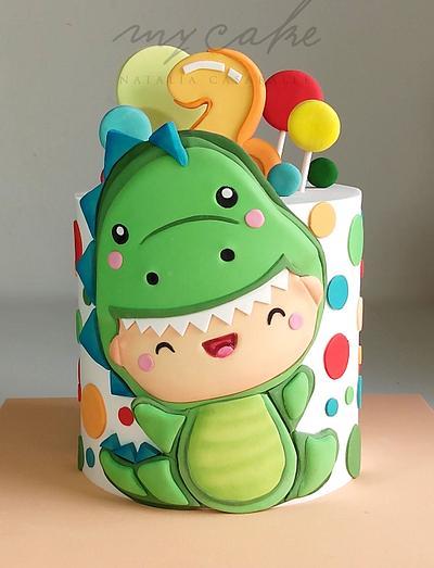 Dino bebe - Cake by Natalia Casaballe