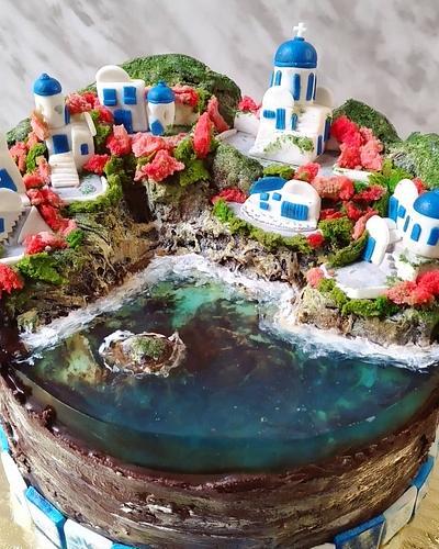 Jelly cake: Greece - Cake by Paladarte El Salvador