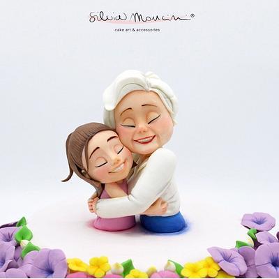 THE HUG - Cake by Silvia Mancini Cake Art