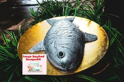Fish Cake - Cake by Amys bayked bouquett