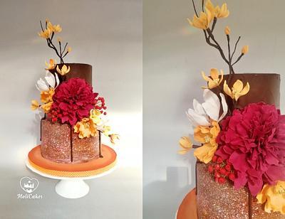 Autumn cake  - Cake by MOLI Cakes