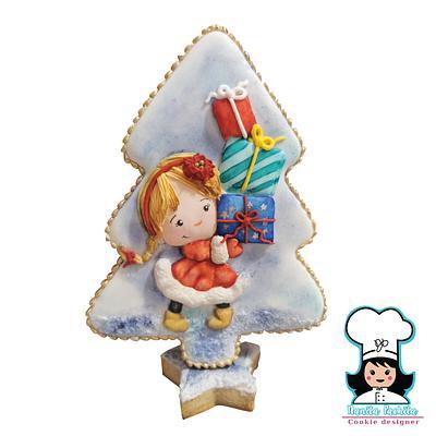 The Pine three a story christmas International collaboration   - Cake by NanitaPachita_AnaBorja