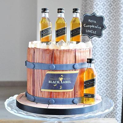 Barrel cake - Cake by rincondulcebysusana