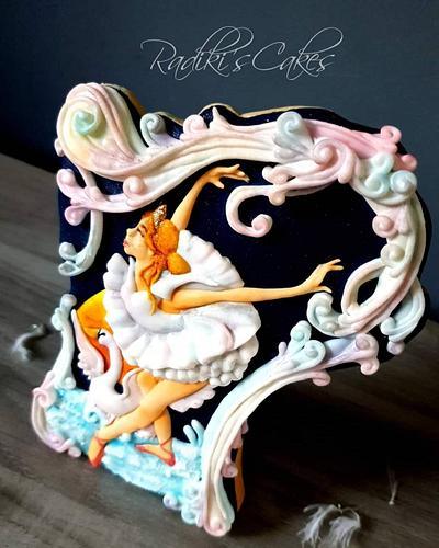 The Ballerina  - Cake by Radoslava Kirilova (Radiki's Cakes)