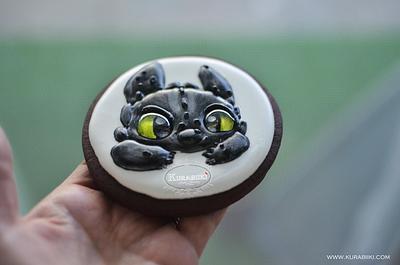 Toothless dragon - Cake by Silviya Schimenti
