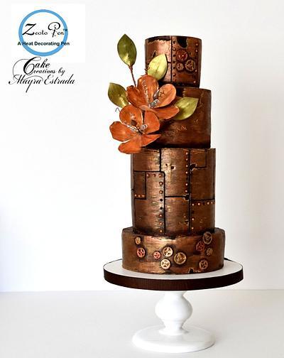 Steampunk Cake - Cake by Cake Creations by ME - Mayra Estrada