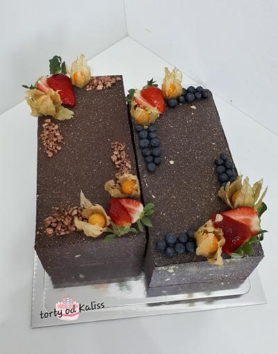 Bday  cake dessert - Cake by Kaliss