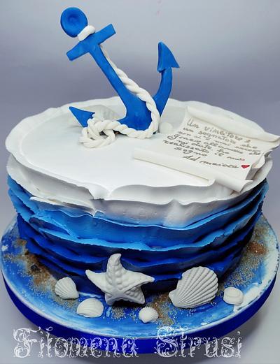 Marine cake  - Cake by Filomena
