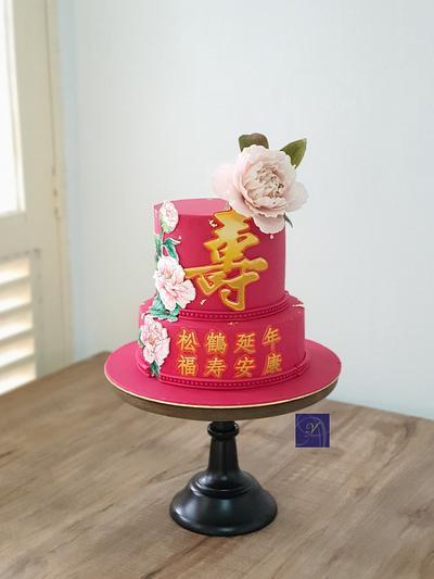 Longevity Cake - Cake by Ms. V