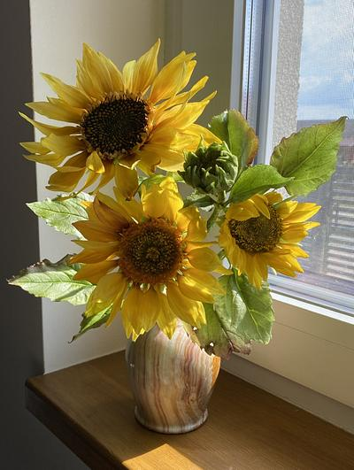Sunflowers  - Cake by  Alena Ujshag