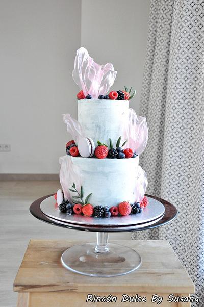 Rice paper sails cake - Cake by rincondulcebysusana