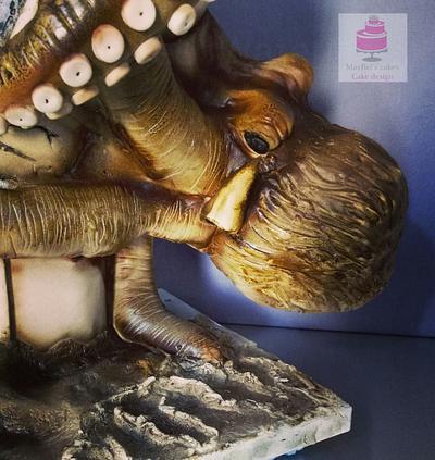 Kraken attacks the light house  - Cake by MayBel's cakes