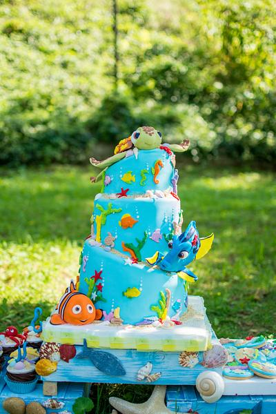 Finding Nemo - Cake by Planet Cakes Patisserie
