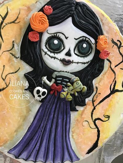Muñeca Día de muertos  - Cake by Iliana Hernandez