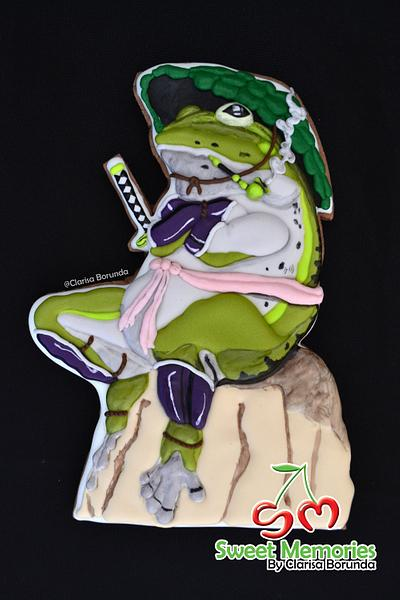Samurai Toad Japan Collaboration - Cake by Clarisa Borunda