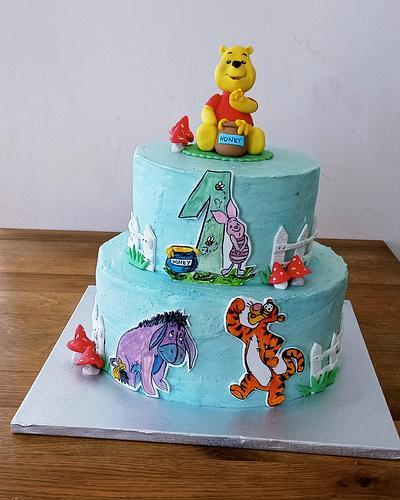 Bear Pooh cake - Cake by BoryanaKostadinova