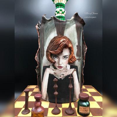 La Regina di scacchi - Cake by Olana Mary