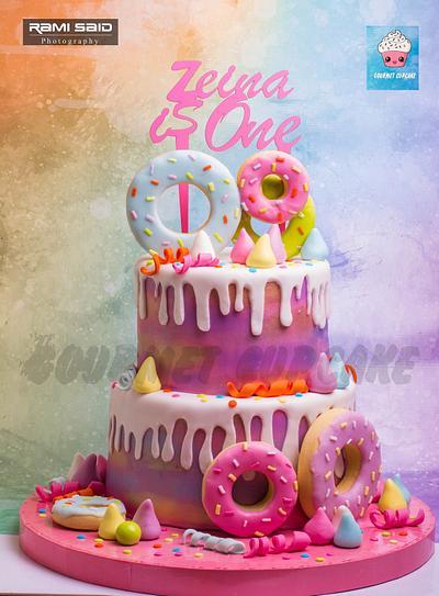Donuts cake - Cake by Gourmet Cupcake