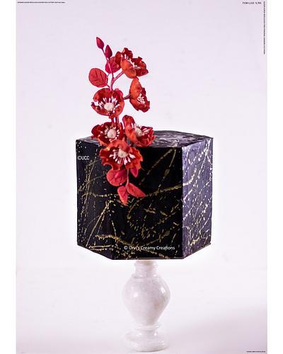 Hexagon cake - Cake by Urvi Zaveri