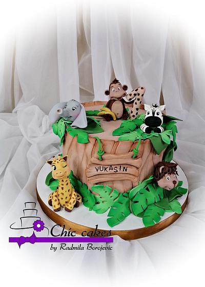 Jungle cake - Cake by Radmila