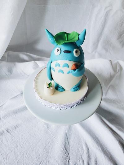 Totoro Cake - Cake by Sydney Megan Connor