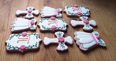 Christening cookies - Cake by BoryanaKostadinova